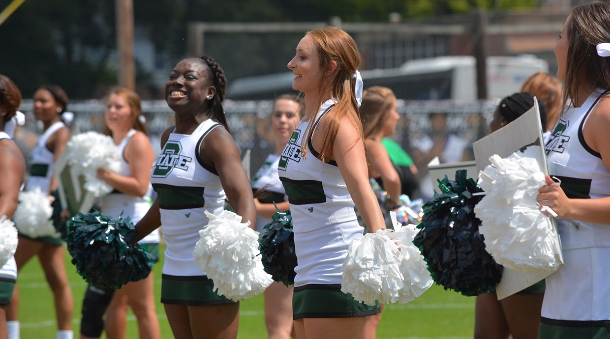 cheerleading delta state university athletics